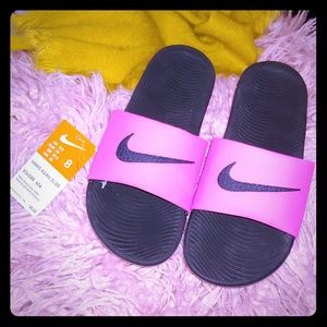 🆕Nike Kawa Pink Slide Sandal - 8